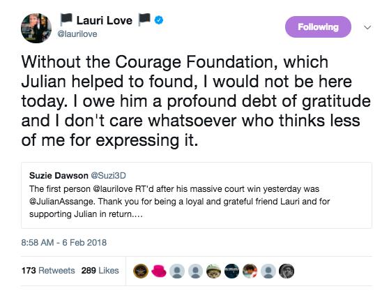 Lauri Love Assange